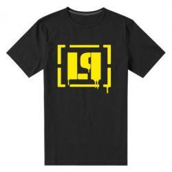 Мужская стрейчевая футболка LP - FatLine