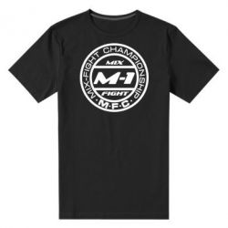 Мужская стрейчевая футболка M-1 Logo - FatLine