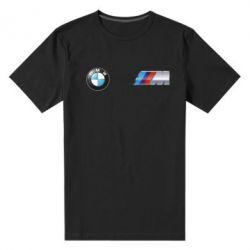 Мужская стрейчевая футболка M POWER 3D Logo - FatLine