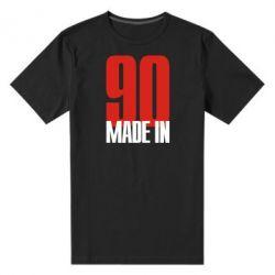Мужская стрейчевая футболка Made in 90 - FatLine