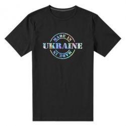 Мужская стрейчевая футболка Made in Ukraine Голограмма
