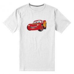 Мужская стрейчевая футболка Маккуин - FatLine