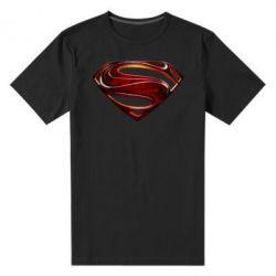 Мужская стрейчевая футболка Man of Steel - FatLine