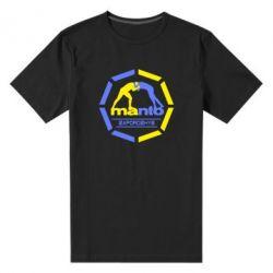 Мужская стрейчевая футболка Manto Zaporozhye - FatLine