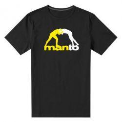 Мужская стрейчевая футболка Manto