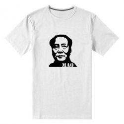 Мужская стрейчевая футболка МАО - FatLine