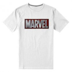 Мужская стрейчевая футболка Marvel 3D - FatLine