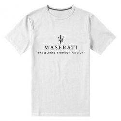 Мужская стрейчевая футболка Maserati - FatLine