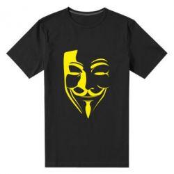 Мужская стрейчевая футболка Маска Вендетта