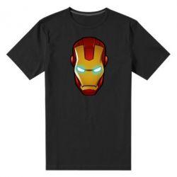Мужская стрейчевая футболка Маскаа Железного Человека - FatLine