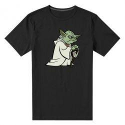 Мужская стрейчевая футболка Master Yoda
