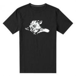 Чоловіча стрейчева футболка Майстер Йода