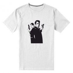Мужская стрейчевая футболка Max Payne 2 - FatLine