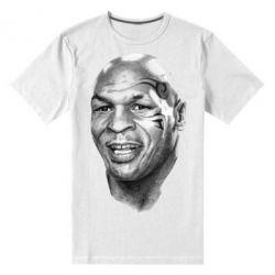Мужская стрейчевая футболка Майк Тайсон - FatLine