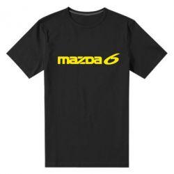 Мужская стрейчевая футболка Mazda 6 - FatLine
