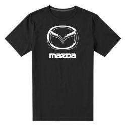 Мужская стрейчевая футболка Mazda Logo - FatLine