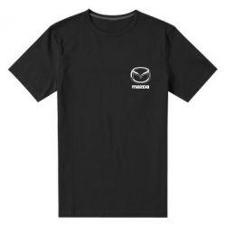 Мужская стрейчевая футболка Mazda Small - FatLine