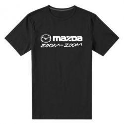 Мужская стрейчевая футболка Mazda Zoom-Zoom - FatLine