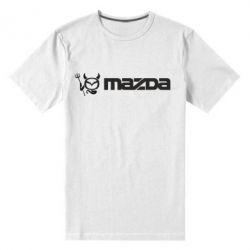 Мужская стрейчевая футболка Mazda - FatLine