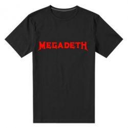 Мужская стрейчевая футболка Megadeth