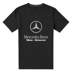 Мужская стрейчевая футболка Mercedes Benz - FatLine