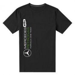 Мужская стрейчевая футболка Mercedes GP Vert - FatLine
