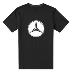 Мужская стрейчевая футболка Mercedes - FatLine