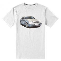 Мужская стрейчевая футболка Мерседес - FatLine
