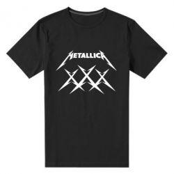 Мужская стрейчевая футболка Metallica XXX - FatLine