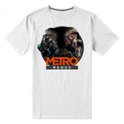 Мужская стрейчевая футболка Metro: Redux