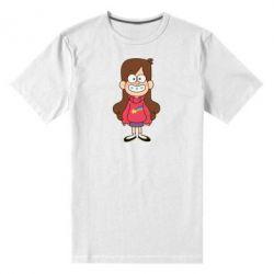 Мужская стрейчевая футболка Мэйбл Пайнс - FatLine