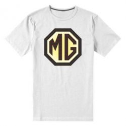 Мужская стрейчевая футболка MG Cars Logo - FatLine