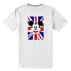 Мужская стрейчевая футболка Mickey Swag - FatLine