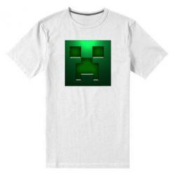 Мужская стрейчевая футболка Minecraft Face - FatLine