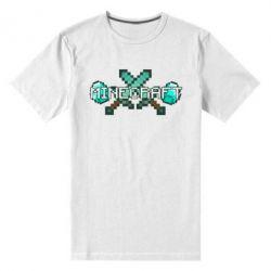 Мужская стрейчевая футболка Minecraft - FatLine