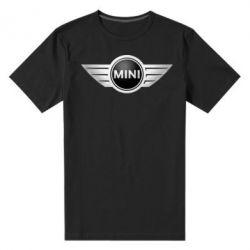 Мужская стрейчевая футболка Mini Cooper - FatLine