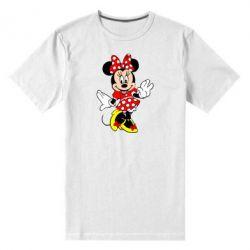 Мужская стрейчевая футболка Минни Красавица - FatLine