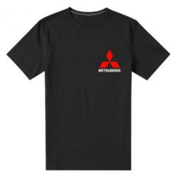 Мужская стрейчевая футболка Mitsubishi small - FatLine