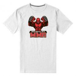 Мужская стрейчевая футболка MMA Fighter 2 - FatLine