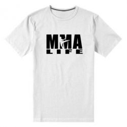 Мужская стрейчевая футболка MMA Life - FatLine