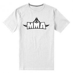 Мужская стрейчевая футболка MMA Pattern - FatLine