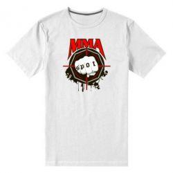 Мужская стрейчевая футболка MMA Spot - FatLine