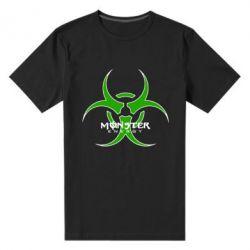 Мужская стрейчевая футболка Monster Energy Biohazard - FatLine