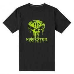 Мужская стрейчевая футболка Monster Energy Череп - FatLine