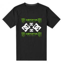 Мужская стрейчевая футболка Monster Energy DC Logo - FatLine