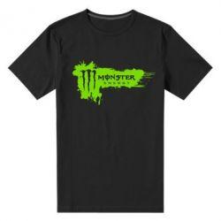 Мужская стрейчевая футболка Monster Energy Drink - FatLine
