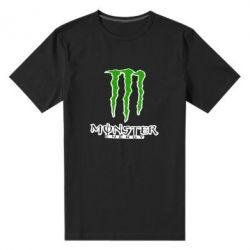 Мужская стрейчевая футболка Monster Energy Logo - FatLine