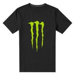 Мужская стрейчевая футболка Monster Energy Stripes 2 - FatLine