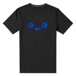 Мужская стрейчевая футболка Мордашка Аниме - FatLine