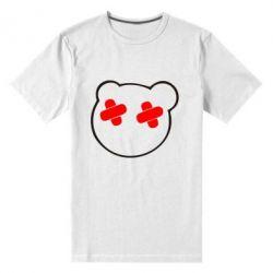 Мужская стрейчевая футболка мордочка - FatLine
